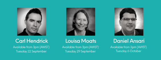Carl Hendrick, Louisa Moats and Daniel Ansari will be the first three Talking Literacy guests